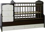 Отзывы о детской кроватке СКВ-Компани СКВ-7 730038-9 (Венге-ваниль)