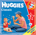 Отзывы о подгузниках Huggies Classic 3 (74 шт)