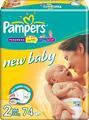 Отзывы о подгузниках Pampers New Baby 2 Mini (74 шт)