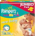 Отзывы о подгузниках Pampers New Baby 2 Mini Jumbo Pack (94 шт)