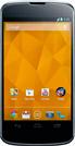 Отзывы о смартфоне LG Nexus 4 (16Gb) (E960)